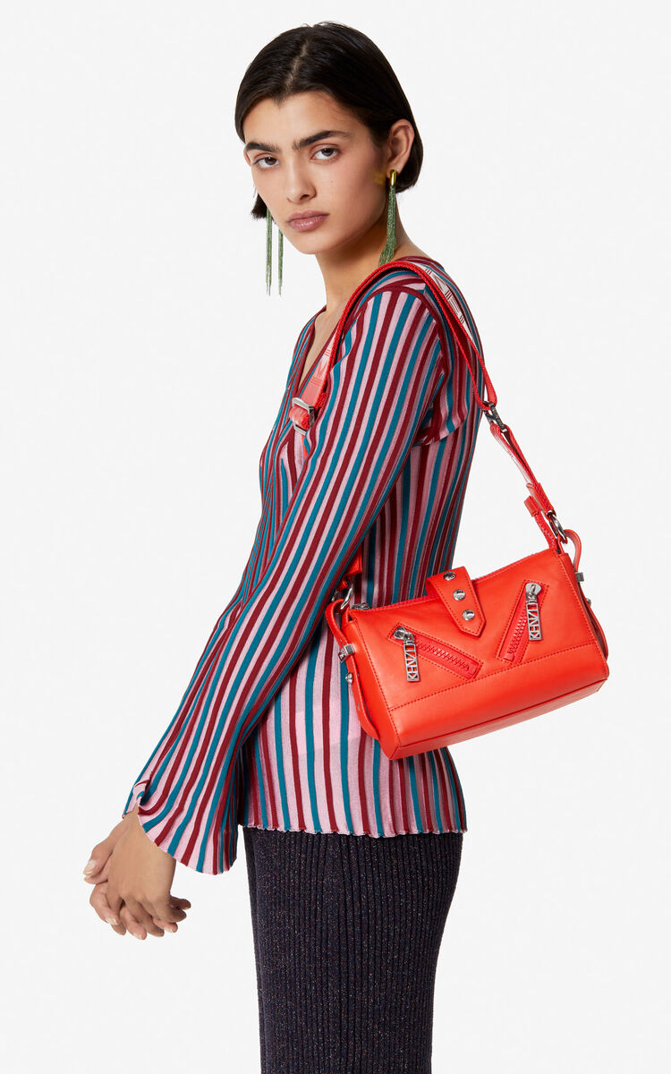 MEDIUM RED Mini Kalifornia Sport bag for unisex KENZO