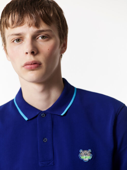 ROYAL BLUE Regular Polo Shirt for men KENZO
