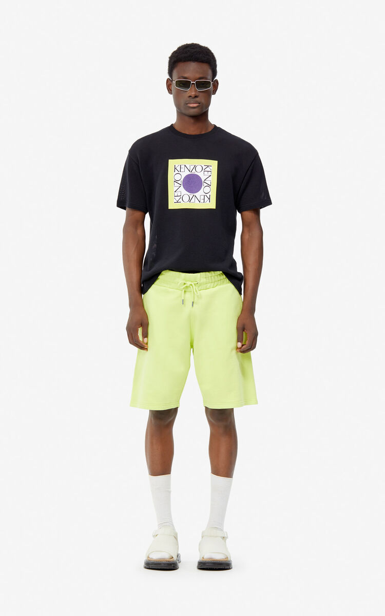 LEMON KENZO Logo shorts for men