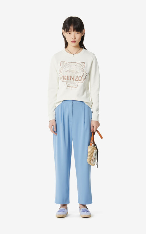 OFF WHITE Tiger 'High Summer Capsule Collection' sweatshirt for women KENZO