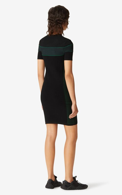 GREEN KENZO Sport dress for women
