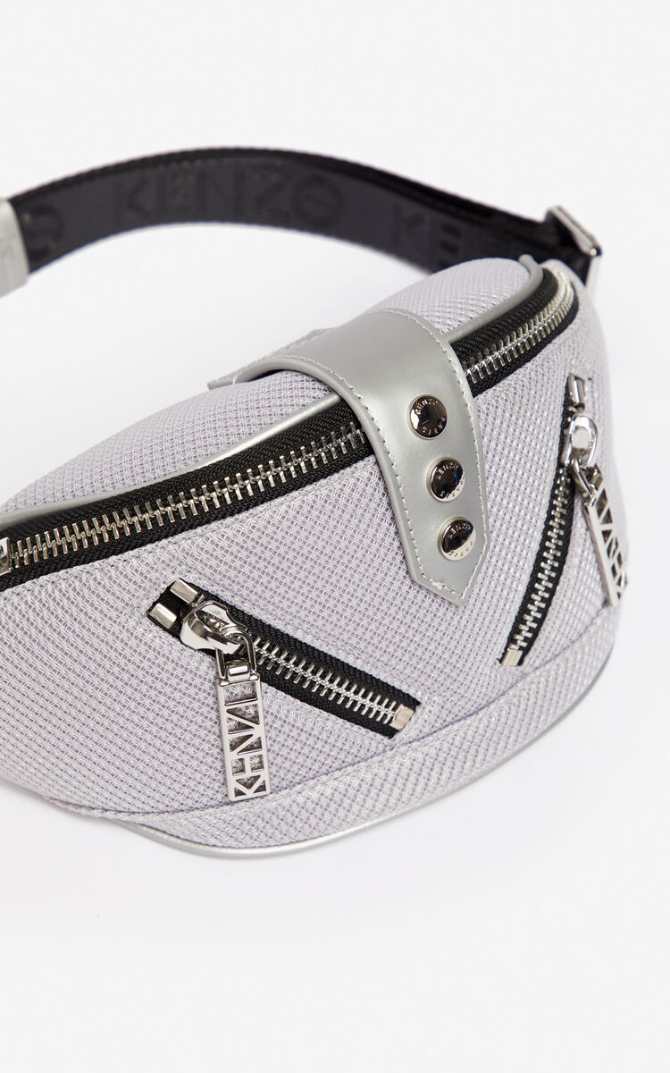 SILVER Kalifornia sports belt-bag for women KENZO