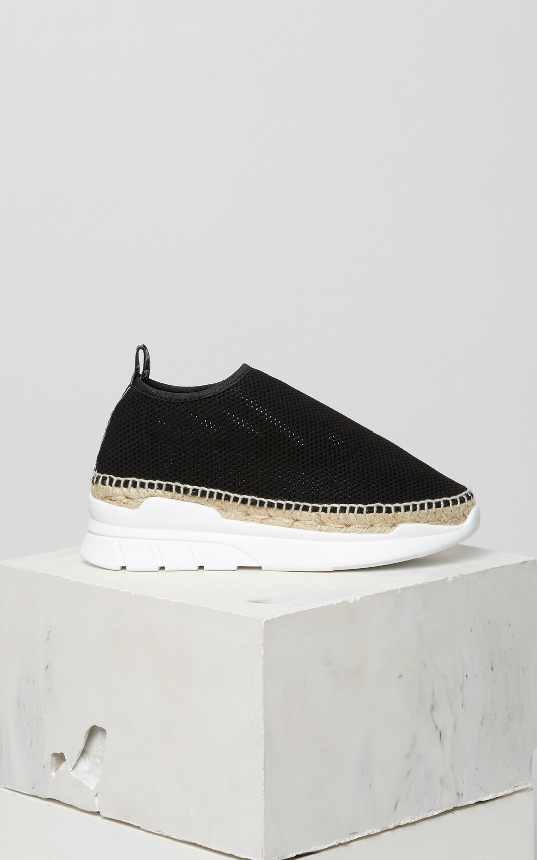 BLACK K-Lastic Espadrilles for women KENZO