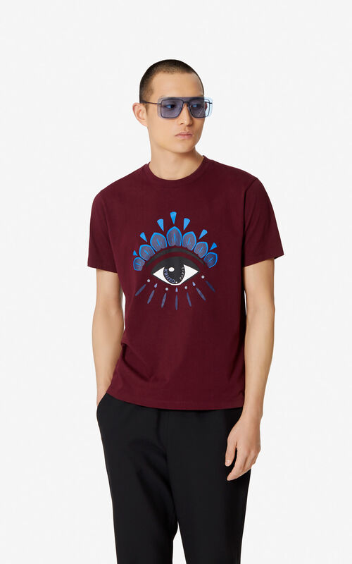 5c7dbb5b1252 BORDEAUX Eye t-shirt for men KENZO ...