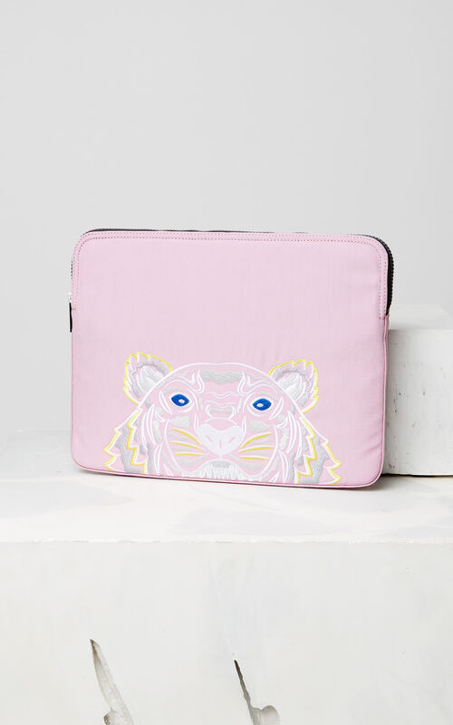 FLAMINGO PINK Tiger laptop sleeve for men KENZO