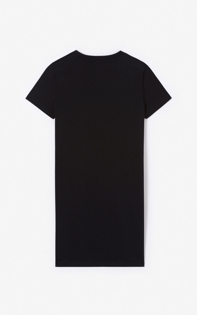 BLACK Eye t-shirt dress for women KENZO