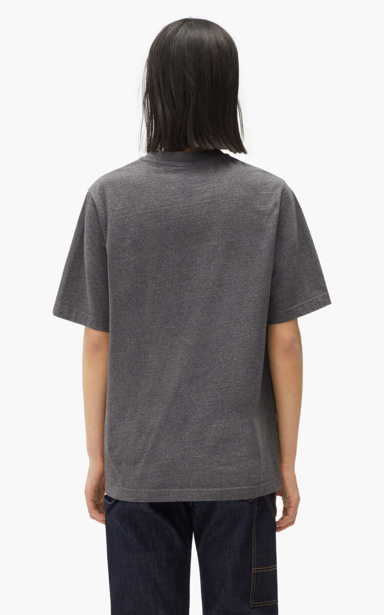 ANTHRACITE RE/KENZO relaxed casual T-shirt for men
