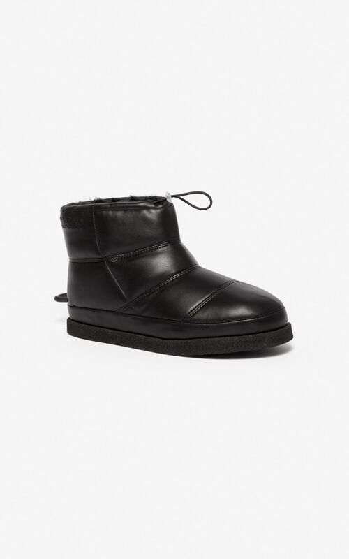 BLACK Kusco boots for women KENZO