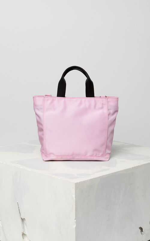 FLAMINGO PINK Mini Tiger tote bag for unisex KENZO