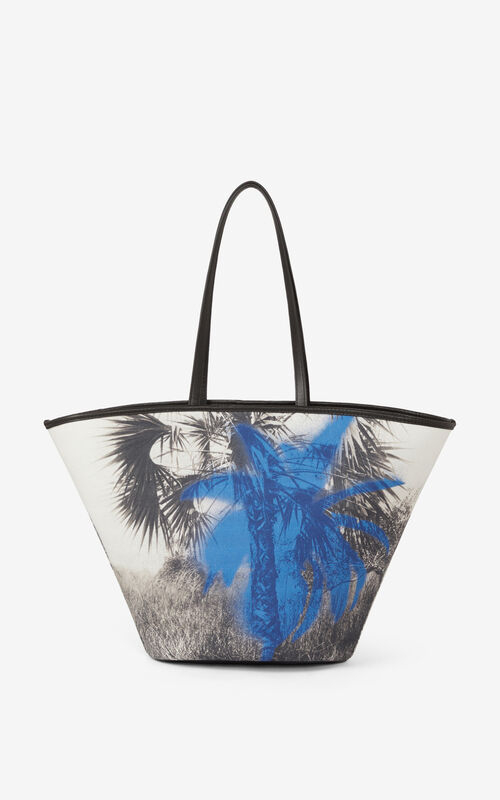 CYAN 'High Summer Capsule' large tote bag for unisex KENZO