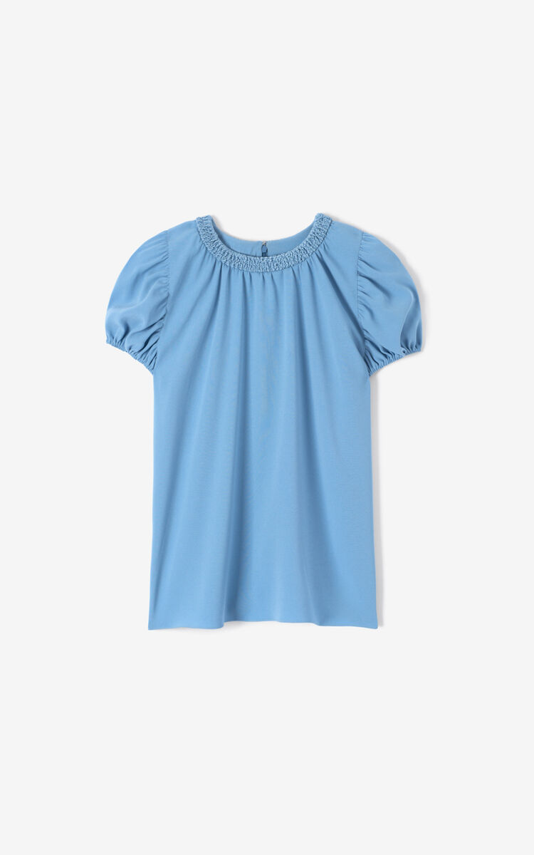 BLUE Smock top for women KENZO