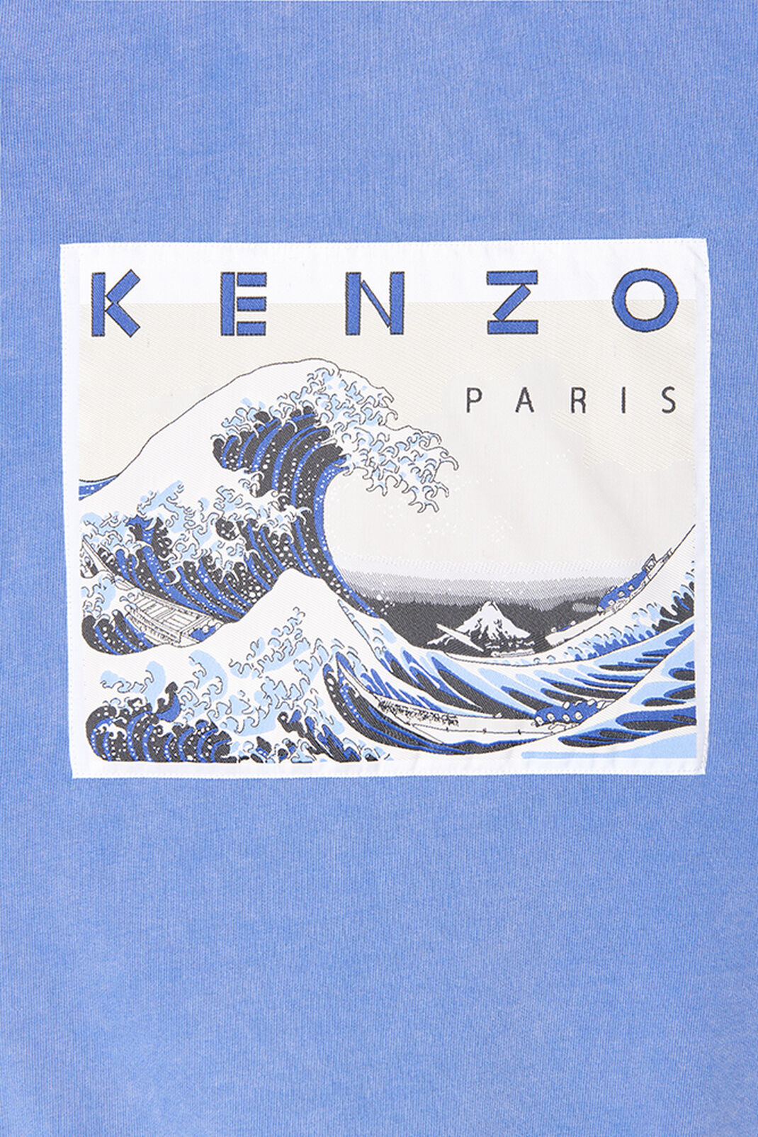 DEEP SEA BLUE 'Kanagawa Wave' Sweatshirt for women KENZO