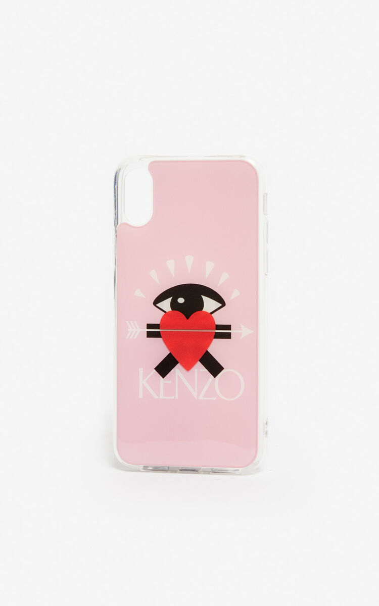 PASTEL PINK iPhone X/XS Case for women KENZO