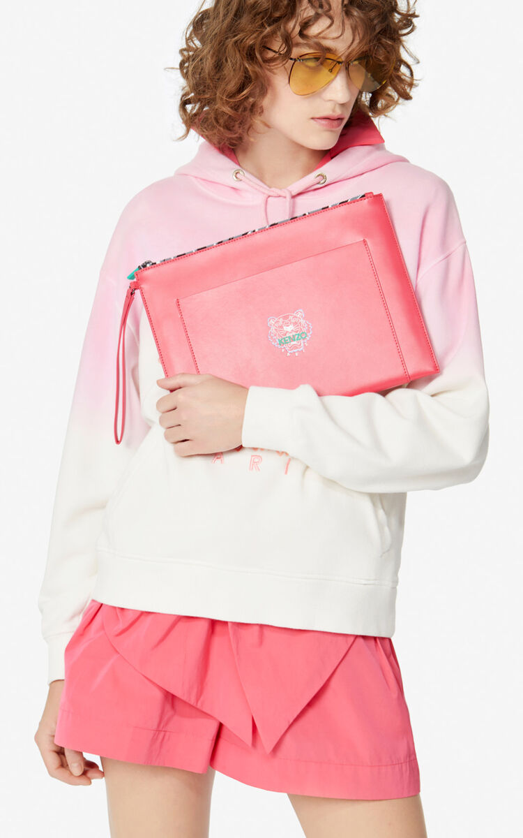 CORAL Ekusson' A4 clutch for unisex KENZO