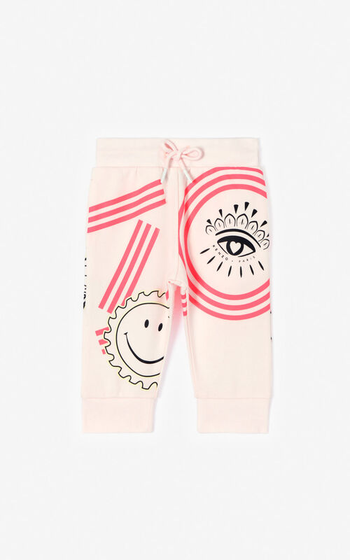 FADED PINK 'Cali Party' jogging trousers for men KENZO