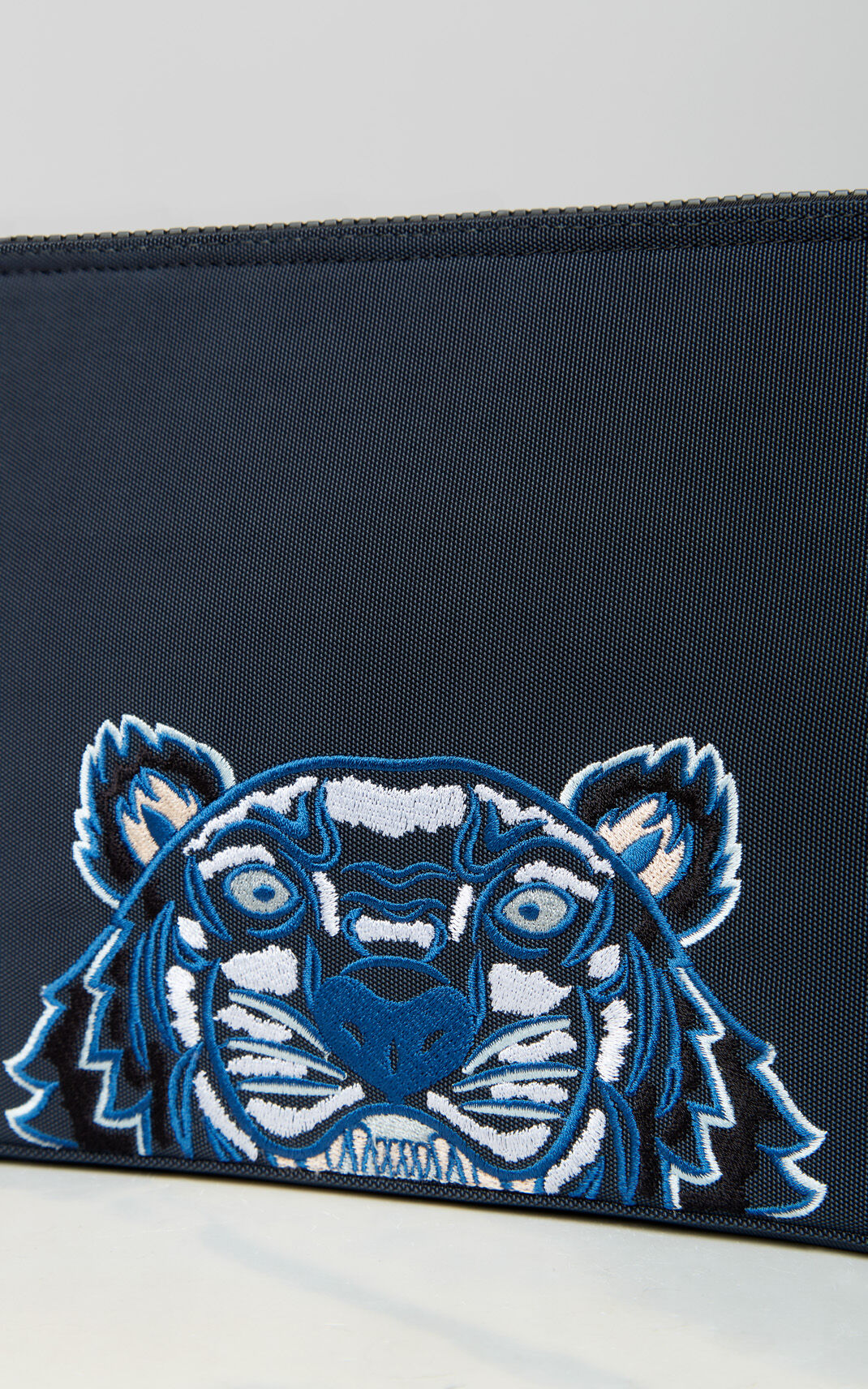 DARK GREY Tiger tablet sleeve for unisex KENZO