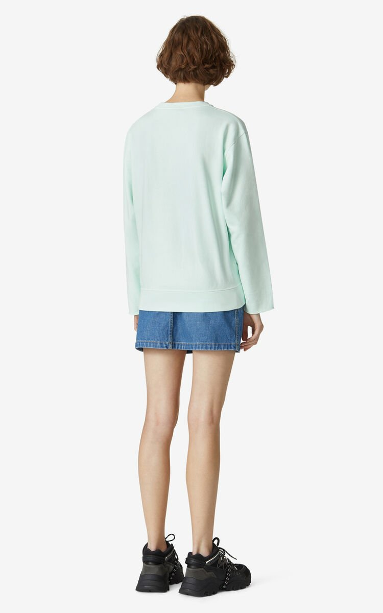 MINT K-Tiger sweatshirt for women KENZO
