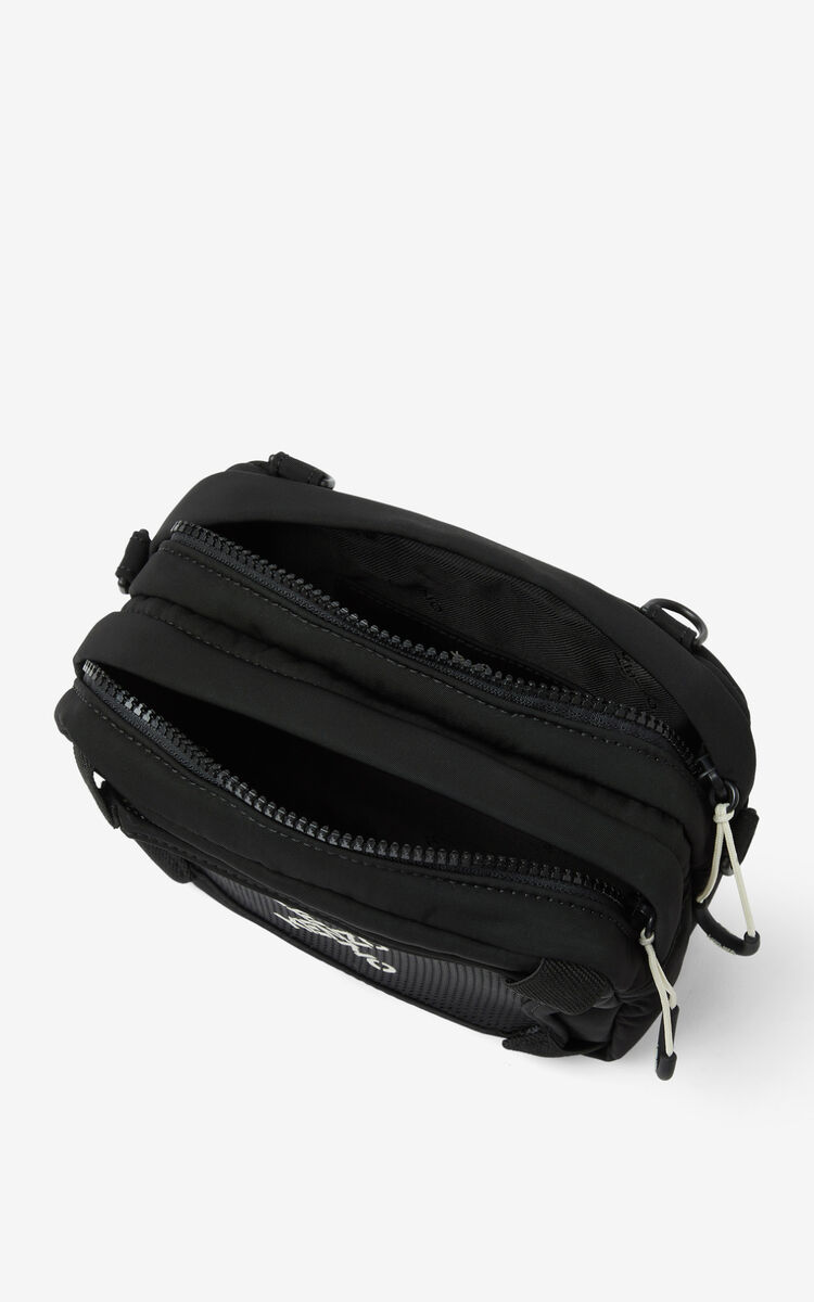 BLACK KENZO Sport 'Little X' bag for men