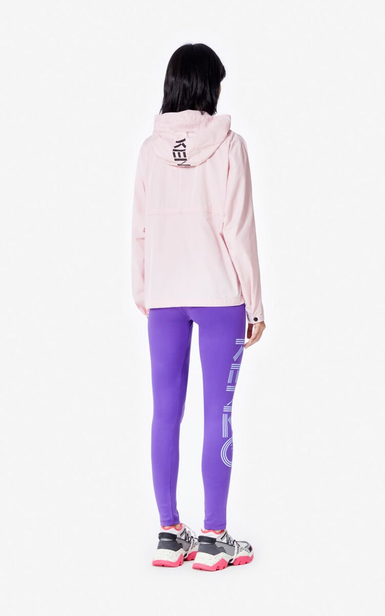 AUBERGINE Kenzo Logo legging for women