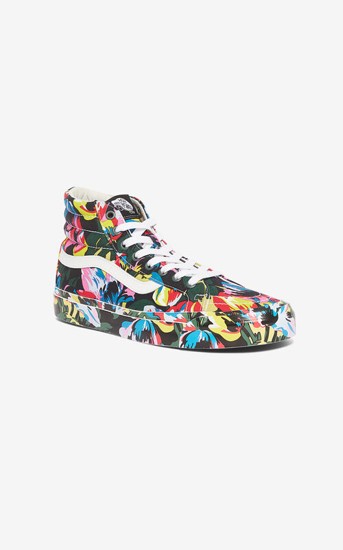 BLACK SK8-Hi 'Tulipes' KENZO/VANS sneakers  for unisex