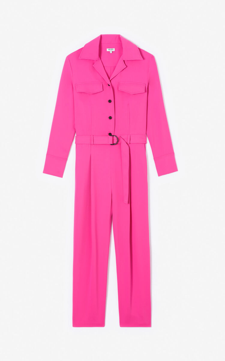 DEEP FUSCHIA Jumpsuit for women KENZO