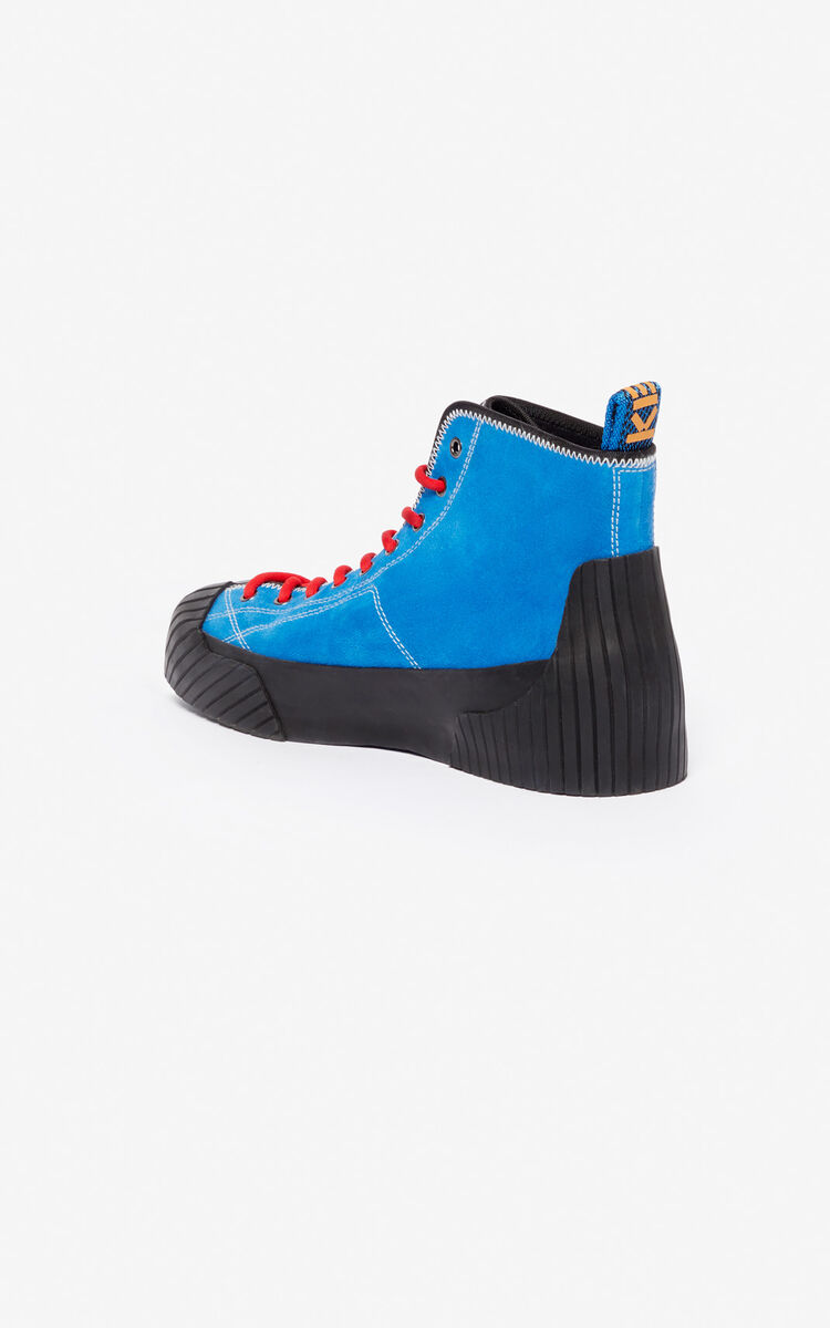 COBALT Volkano high-top sneakers for unisex KENZO