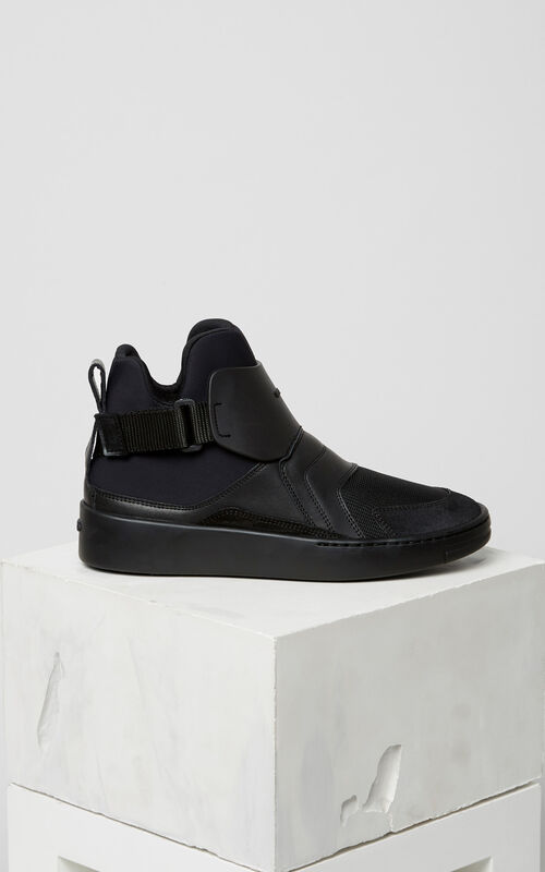 BLACK K-Block Sneakers for women KENZO