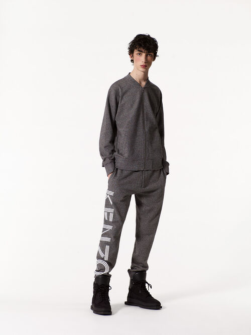 ANTHRACITE Joggers with KENZO logo for men
