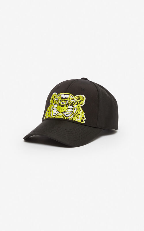 BLACK Tiger baseball cap 'High Summer Capsule collection' for unisex KENZO