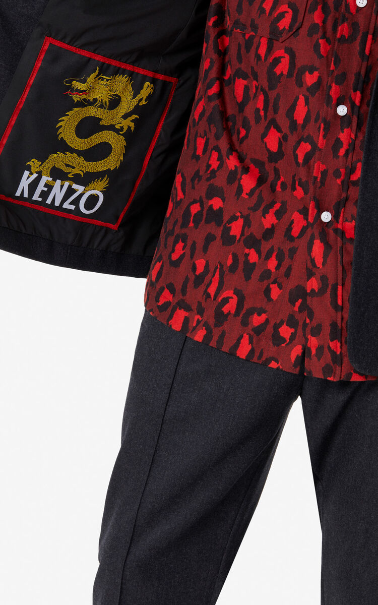 ANTHRACITE 50s jacket for women KENZO