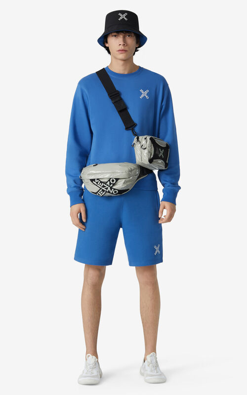 COBALT KENZO Sport 'Little X' shorts for men
