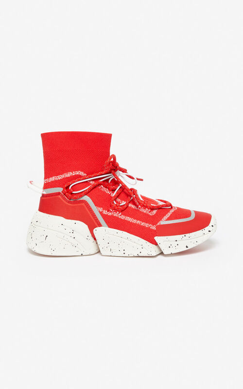 MEDIUM RED K-Sock sneakers for unisex KENZO