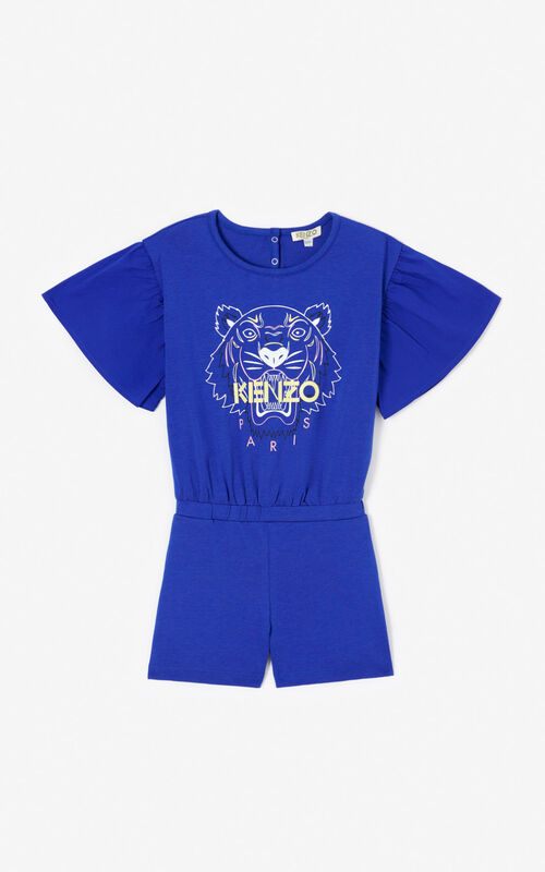 COBALT Tiger playsuit for men KENZO