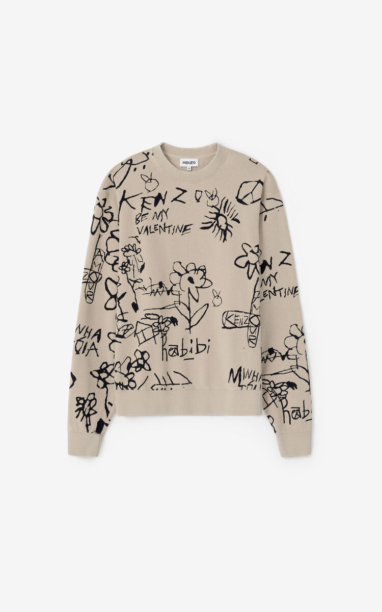 CAMEL Valentine's Day Capsule 'Be my Valentine' sweatshirt  for men KENZO
