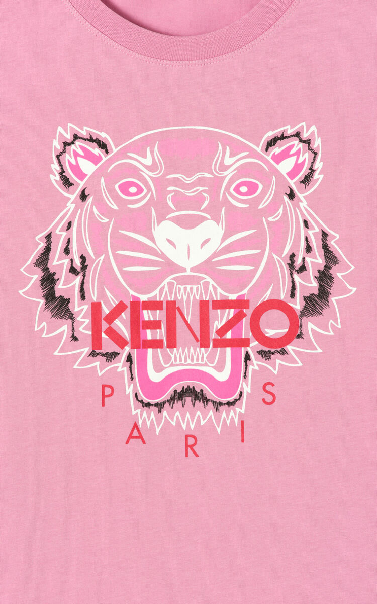 BEGONIA 'Bleached Tiger ' T-shirt for men KENZO
