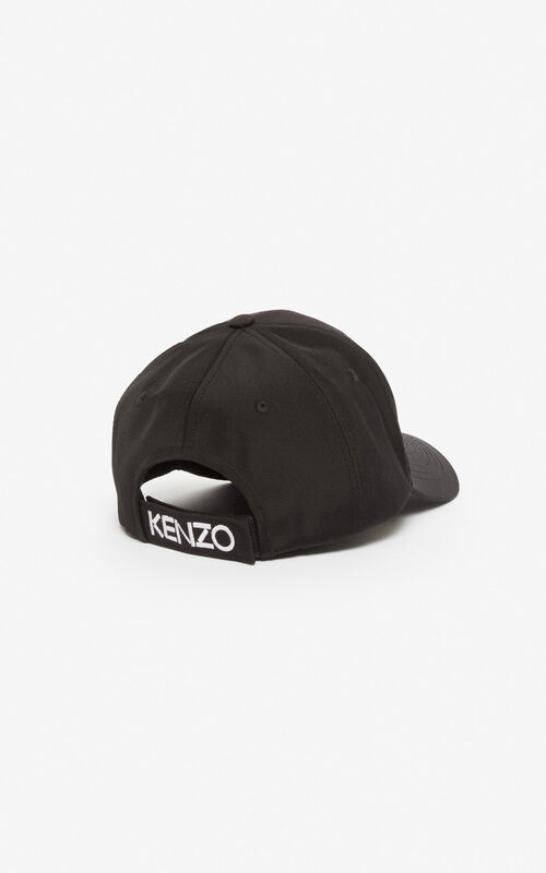 BLACK Tiger baseball cap for unisex KENZO