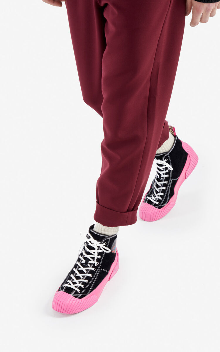 ROSE Volkano high-top sneakers for unisex KENZO