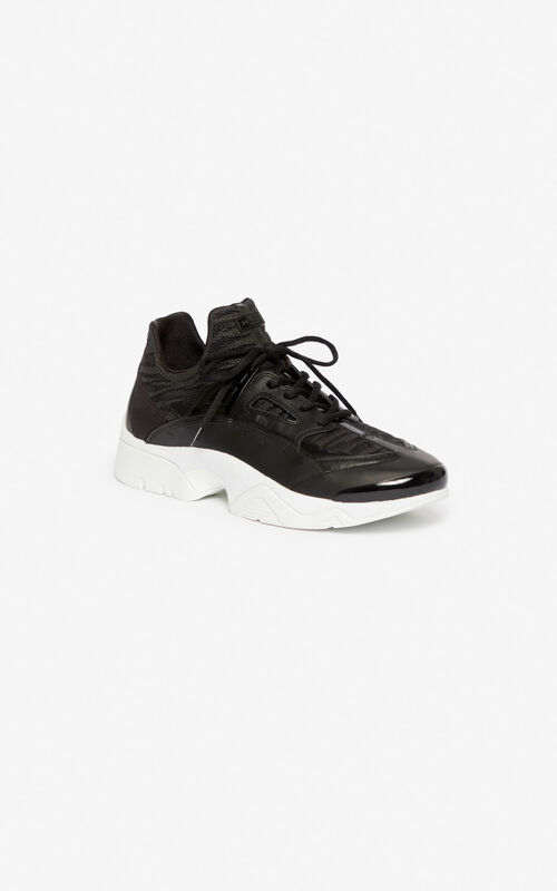 BLACK Sonic sneakers for unisex KENZO