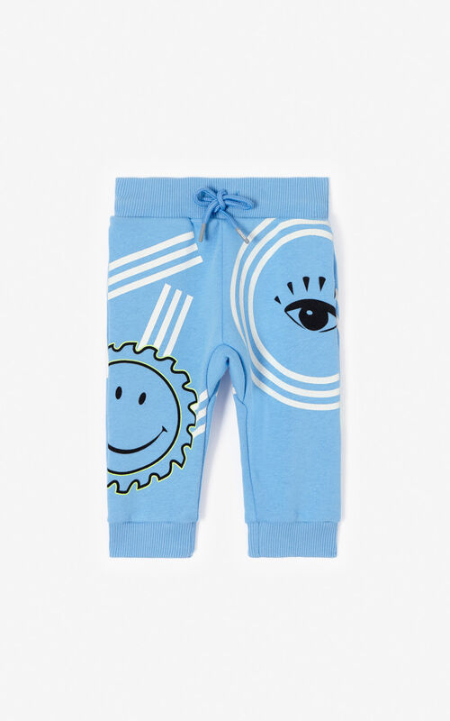 BLUE 'Cali Party' Joggers for men KENZO