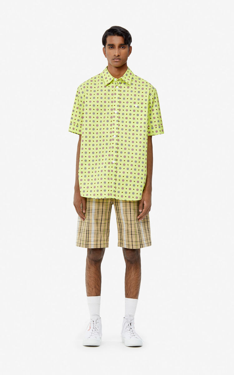 LEMON 'Médaillons' casual shirt for men KENZO