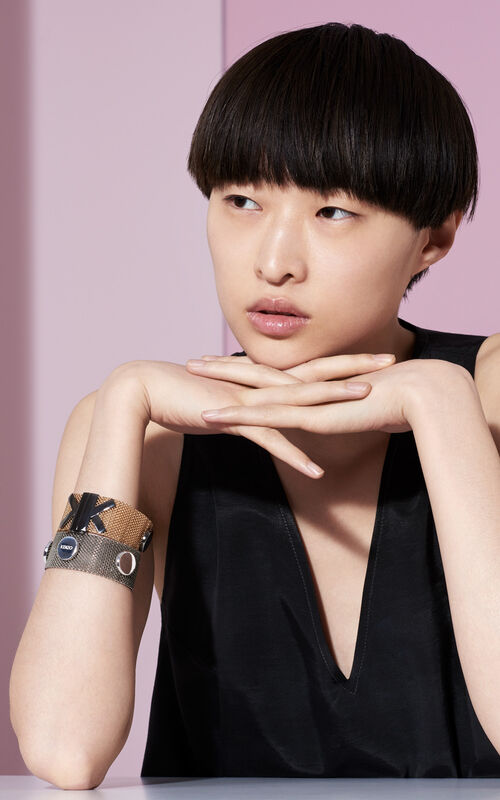 GOLD 'Double K' Bracelet for women KENZO
