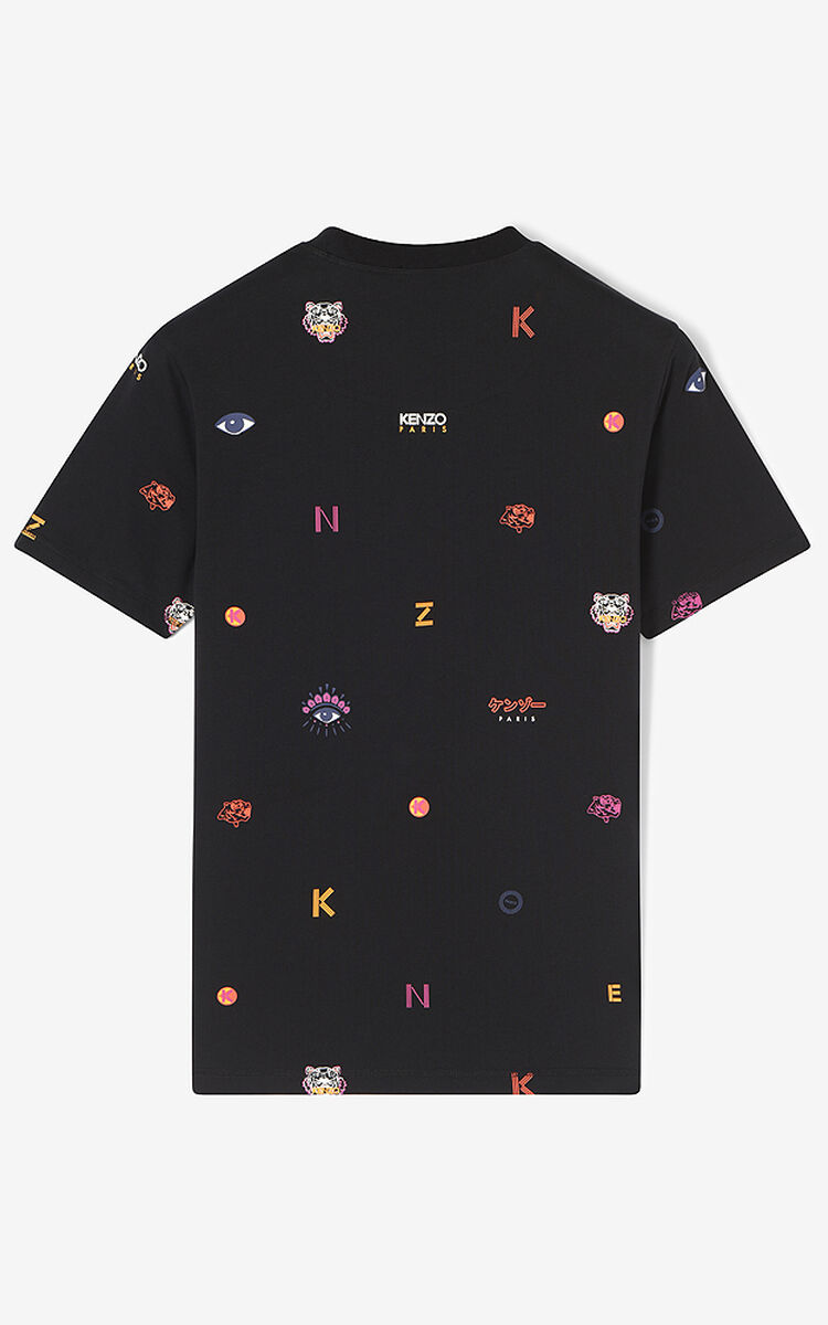 372b5391 Multi Icons T-shirt for MEN Kenzo | Kenzo.com