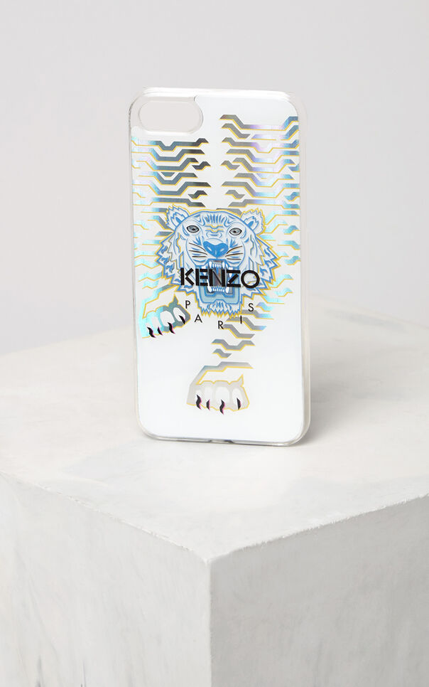 WHITE Geo Tiger iPhone 7/8 case for women KENZO