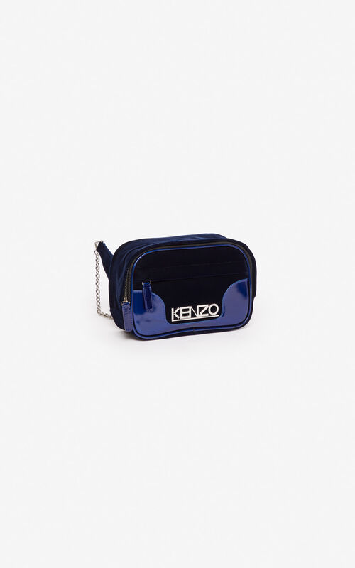MIDNIGHT BLUE Kyoto bumbag for unisex KENZO