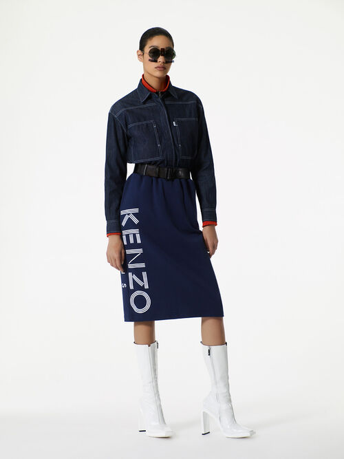 INK Raw Denim Shirt for women KENZO