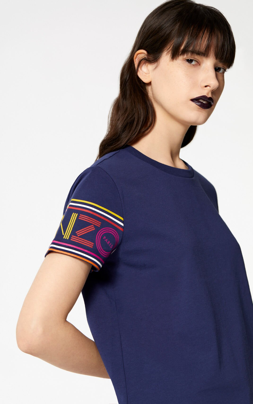 INK Multicolor KENZO Logo t-shirt for women