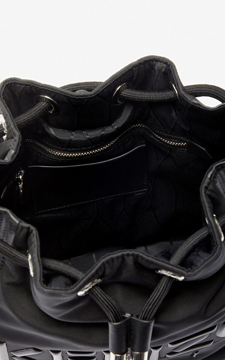 BLACK Kombo bucket bag for unisex KENZO