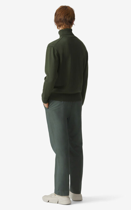 FERN Cropped trousers for men KENZO
