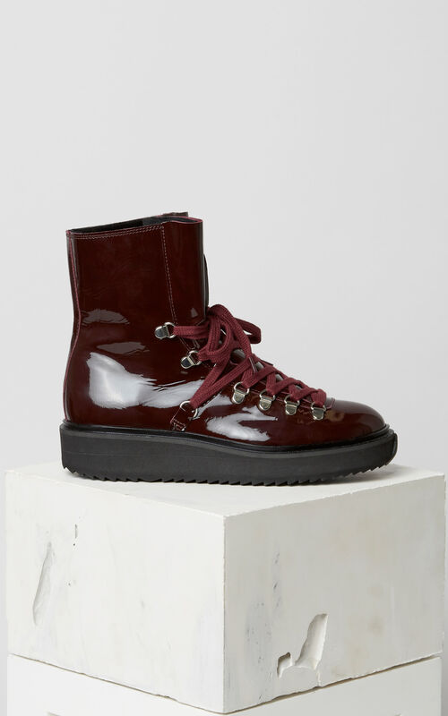 BORDEAUX Alaska fur-lined boots for women KENZO