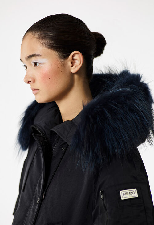 BLACK Puffa' Parka for women KENZO